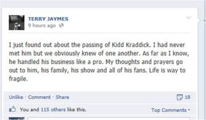 Terry Jaymes - Kidd Kraddick