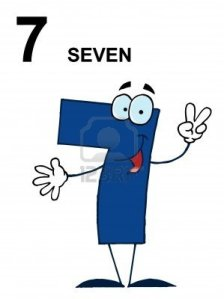 6905513-friendly-blue-number-7-seven-guy-with-text