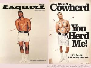 Colin Cowherd Cassius Clay Cover Comparison