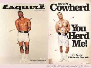 Colin Cowherd Cassius Clay Cover Comparison