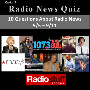 Radio News Quiz 3