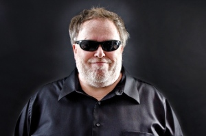 Tom Leykis in his Burbank studio.