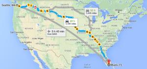 Seattle to Miami